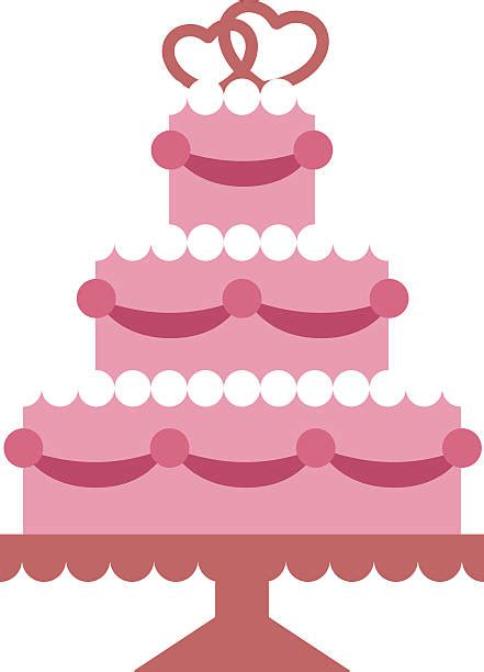 Hochzeitstorte Clipart by Royalty Free Wedding Cake Clip Vector Images