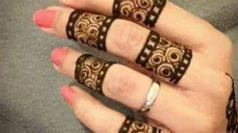 finger mehndi designs 7 mehandidesignsarabic in