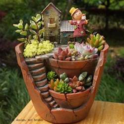 Cactus Planter Succulent Garden Ideas Collection On Ebay