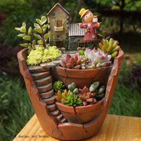Cactus Planter Ideas by Succulent Garden Ideas Collection On Ebay