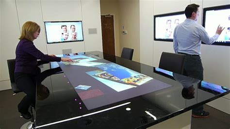 Interactive Meeting Table Interactive Collaborative Environment How We We Might Interact In The Office Of The Future It