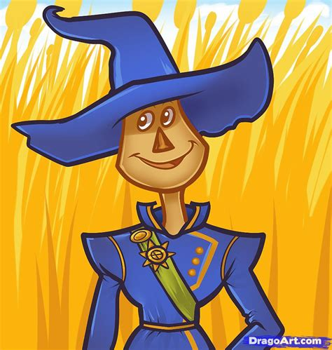 free online face shape wizard how to draw scarecrow dorothy of oz step by step movies