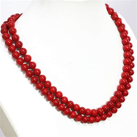 8 Pretty Necklaces For Summer by Delicate Imitation Coral Necklace 8 10