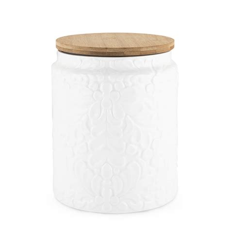 Texture Canister Set pantry textured ceramic large canister by twine 174