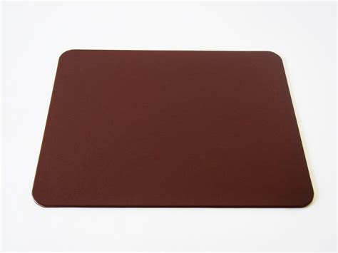 Desk Pad by Brown Leather Desk Pad Genuine Top Grain Leather