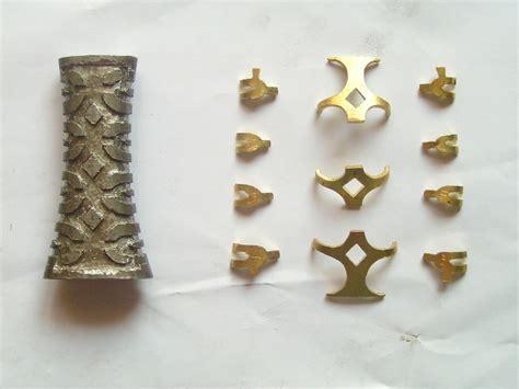pattern welding brass sword site