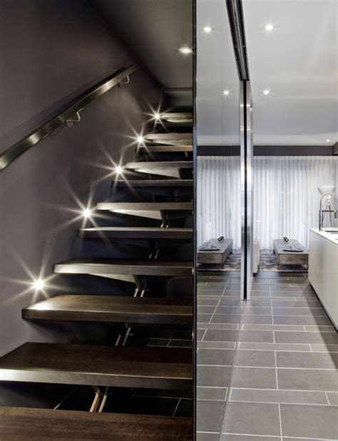 Townhouse Stairs Design Contemporary Townhouse Interior By Cecconi Freshome