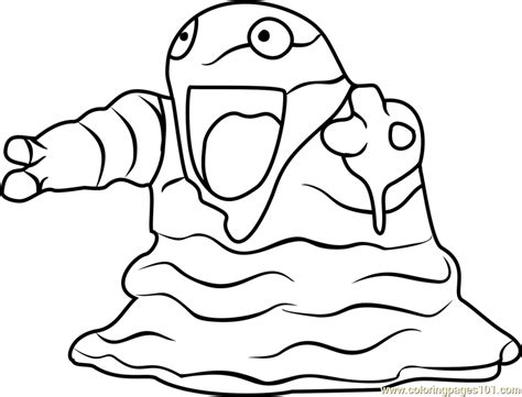 pokemon krabby coloring pages grimer pokemon go images pokemon images