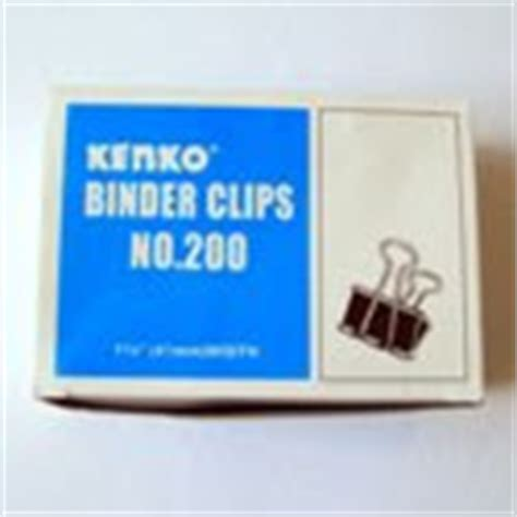 Binder Klip Kenko 260 gracia stationery march 2012