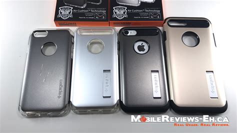 Iphone 7 Spigen Slim Armor spigen slim armor and hybrid armor iphone 7 reviews