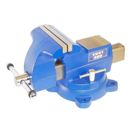bench vise home depot yost 8 in heavy duty apprentice series utility bench vise