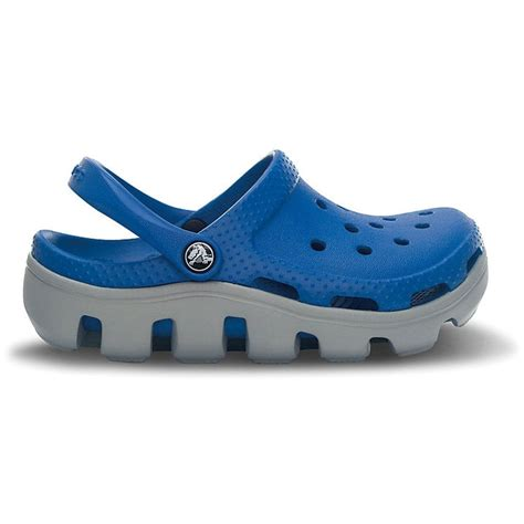 Duet Sport crocs duet sport clog sea blue light grey slip on