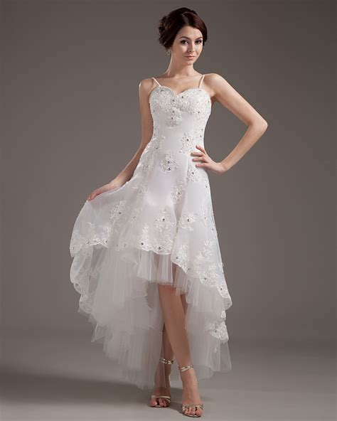 pattern dress short front long back 20 cool short wedding dresses magment