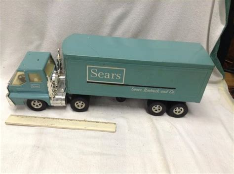 1970 s structo sears delivery tractor trailer
