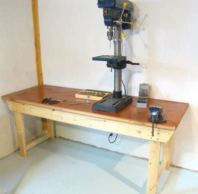 workbench plans    diy   weekend bob vila