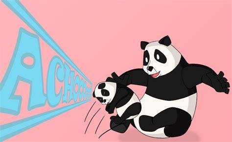 Sneezing Panda Meme - image 15495 sneezing baby panda know your meme