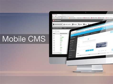 mobile management system mobile app content management system india apps team