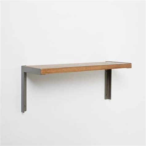 l with shelves l beam shelving brackets west elm