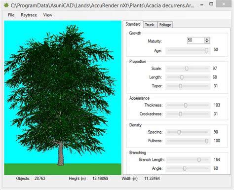 plant layout maker online 2d and 3d representation modes features lands 3d