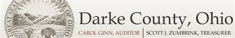 Darke County Property Records Darke County Ohio Auditor Home