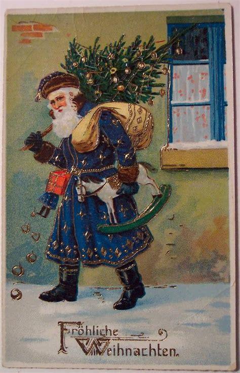 german santa claus vintage christmas christmas postcard vintage christmas cards