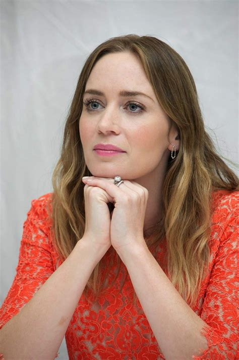 Emily Blunt   Vera Anderson 'Sicario' Press Conference Portraits