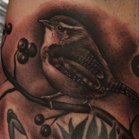 wren tattoo wren