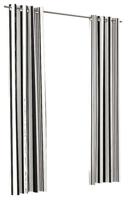 black and white striped outdoor curtains black and white stripe grommet outdoor curtain single