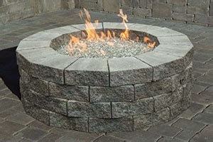 outdoor gas pit kits outdoor living conklin limestone