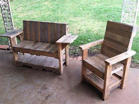 Diy Outdoor Pallet Furniture Projects Diy Craft Projects Pallet Patio Furniture Ideas