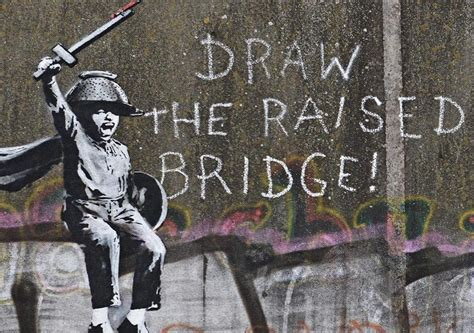 banksy claims responsibility  mysterious  mural
