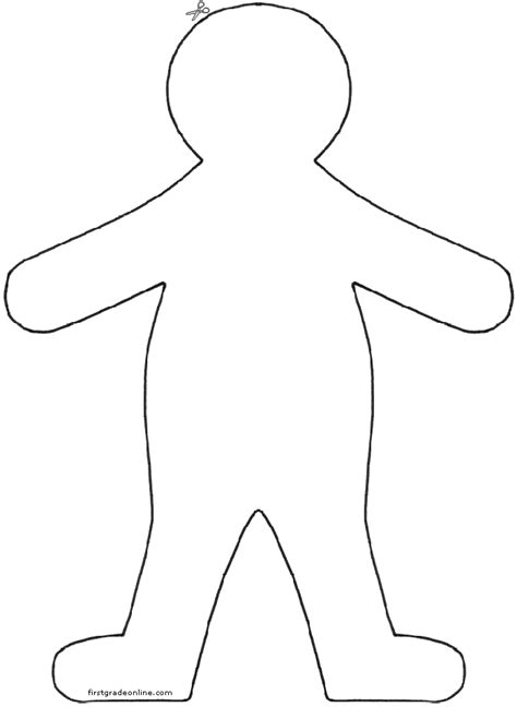 45 Flat Stanley Template Sufficient Dreamswebsite Flat Stanley Template Blank