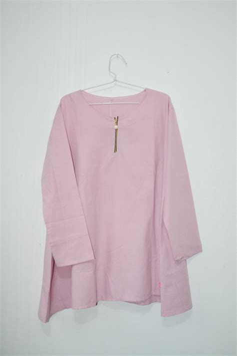 Diskon Blouse Beiby jual alanza blouse baby pink di lapak fimous shop fimousshop