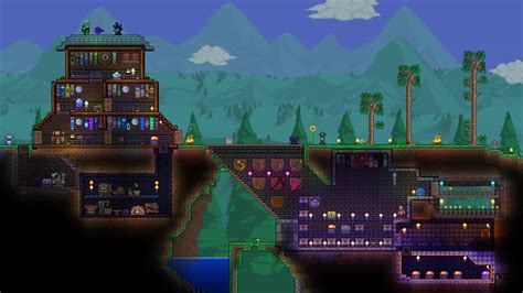 Basic Kitchen Designs pc post your 1 3 base here terraria community forums