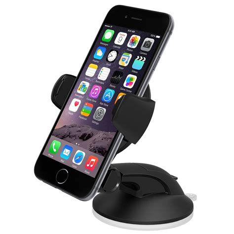 Iphone Holder by Iottie Easy Flex 3 Car Mount Holder For Iphone 7 6 6s 5s 5c Galaxy S6 Smartphone Ebay
