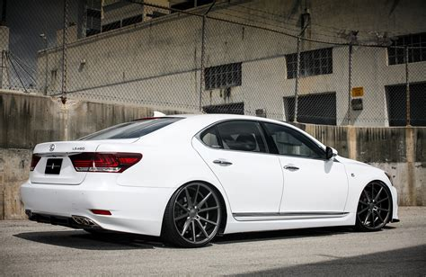 lowered lexus customized lexus ls460 f sport exclusive motoring