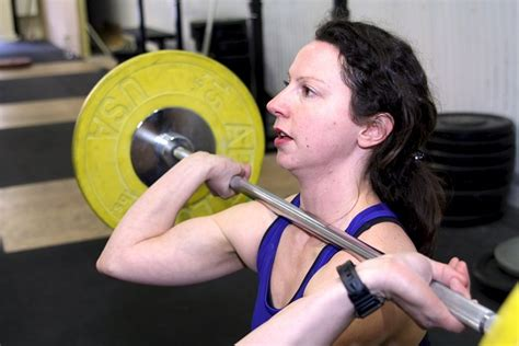 Clean Rack Position by Olympic Lifting Preparation 1 Overhead Squat And Front