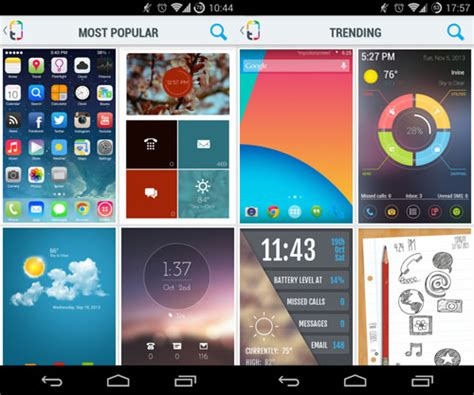 Themes For Android Browser | apply new android themes easily with themer hongkiat
