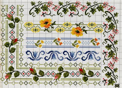 schemi punto croce cornici ricami e schemi a punto croce gratuiti schemi a punto