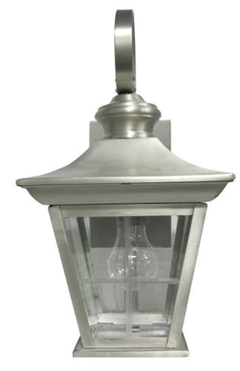 Patriot Outdoor Lighting Patriot Lighting 174 Riverdale 15 5 Quot Antique Pewter 1 Light Outdoor Wall Mount At Menards 174