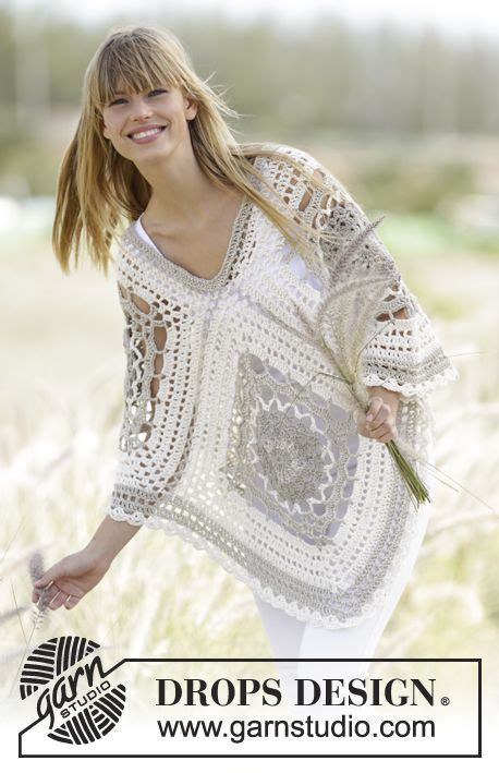 Drops Design Strickmuster by 802 Best Free Crochet Shawls Ponchos And Sweater Patterns
