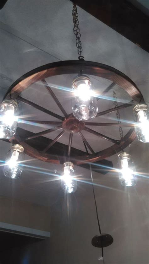 wagon wheel ceiling fan light the s catalog of ideas