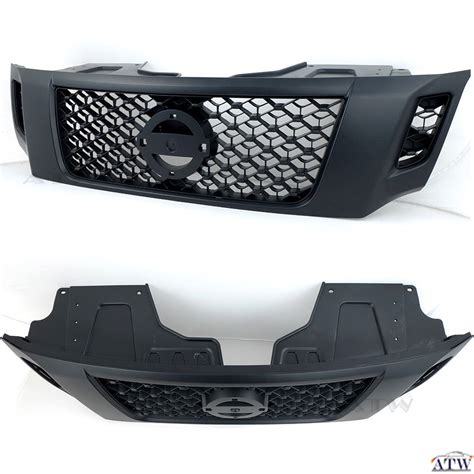 List Bumper Front Grille Ayla for nissan navara new np300 abs plastic black front bumper grill grille ebay