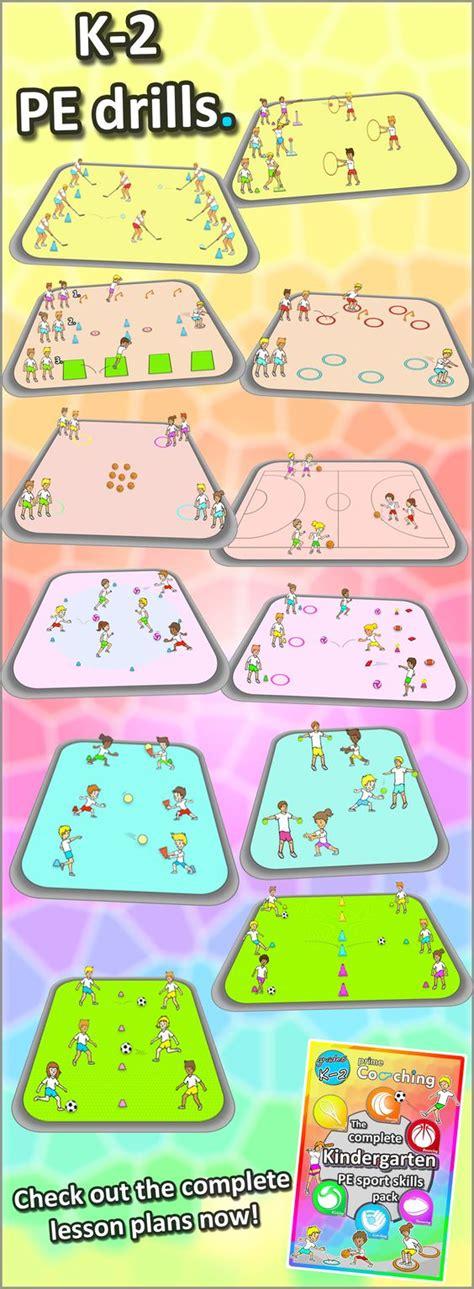 kindergarten activities pe kindergarten to grade 2 pe games complete sport skill