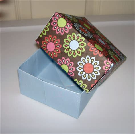 How To Make A Small Gift Box Out Of Paper - christensen crafts and such how to make a paper box