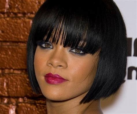 Weave Bob Hairstyles With Bangs by 15 Ideas Of Bob Hairstyles With Bangs Weave