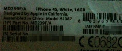 Iphone Modele Md239f A