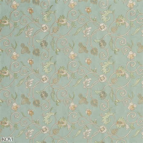 jade upholstery jade and light green floral microfiber upholstery fabric