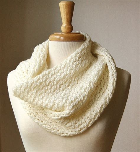 pattern for knitting an infinity scarf infinity scarf knitting pattern circular scarf snood