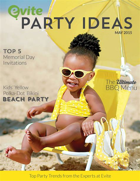 party themes may evite party ideas may 2015 evite